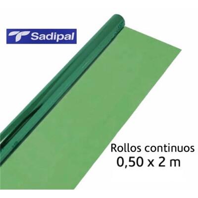 Rollo Celofan navidad Oro 80 x 50 mt